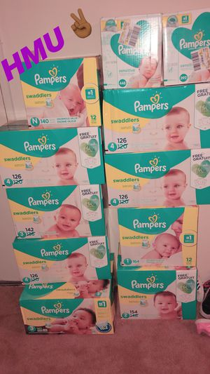 Pampers Swaddlers for Sale in Middle River, MD