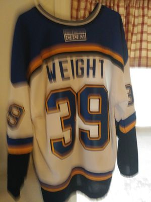 St Louis Blues Weight Jersey 2 X for Sale in Saint Charles, MO