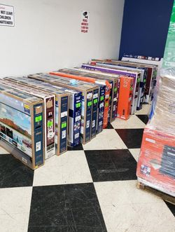 TV warehouse liquidation event !!! New open box!! Act fast! QM8A6 for Sale in China Spring,  TX