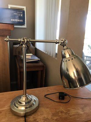 IKEA silver desk lamp for Sale in San Diego, CA