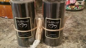 Chalkboard candels new for Sale in Bauxite, AR