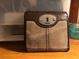 Fossil wallet small for Sale in Inwood, WV