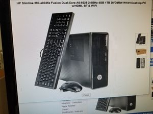 HP PAVILION DESKTOP COMPUTER 8GIGS RAM 2 TB HARD DRIVE. KEYBOARD AND MOUSE INCLUDED. BRAND NEW SEALED BOX for Sale in Los Angeles, CA