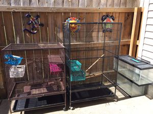 Bird cages or small animal cages. for Sale in Smyrna, TN