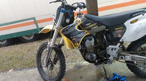 Yamaha wr 400 new motor 5 hours for Sale in Kent, WA