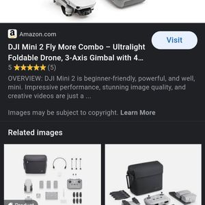 DJI Mini 2 Fly More Combo Drone for Sale in Fairfield, CA