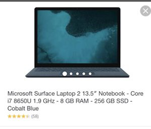 Microsoft Surface Pro Laptop 2 for Sale in Germantown, MD