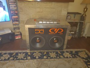 Digital design 9518 2K RMS 8000 Burp...$1,600 each new 2 hours of playtime dual 4-ohm 1500 is a steal for Sale in Pittsburgh, PA