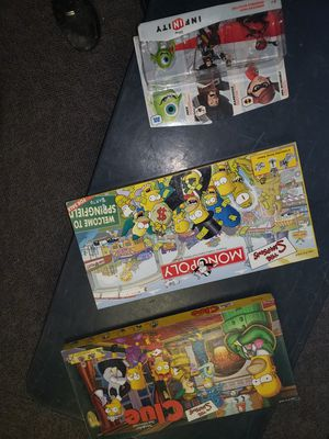 Simpsons board games for Sale in Denver, CO