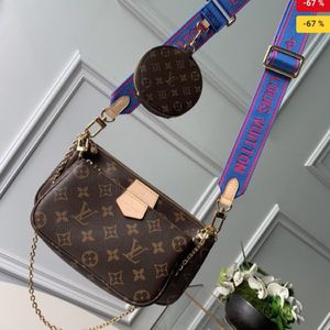 louis vuitton blue multi porchette for Sale in Bellevue, WA