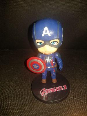 Captain America Mini Figure for Sale in Moreno Valley, CA