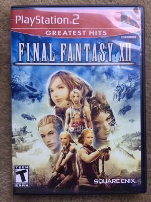 Final Fantasy XII (PS2) for Sale in Fairfax, VA
