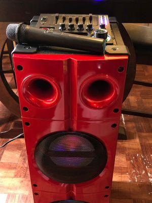 Speaker 9000W bluetooth karaoke Ecualizador micrófono inalámbrico súper bass profundo **Delivery gratis 10 millas max** for Sale in Commerce, CA