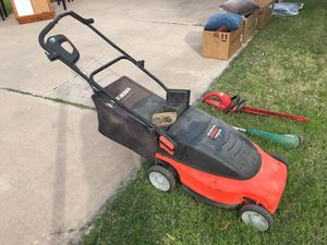 SOLD - Black and Decker Electric Lawn Mower LawnHog for Sale in Mesa, AZ