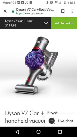 Dyson handheld vacuum for Sale in Portland, OR