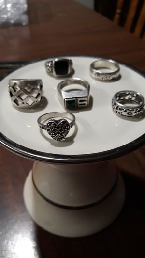 Sterling silver rings for Sale in Arlington, VA
