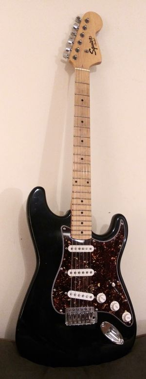 Fender Squier Strat Electric Guitar - Awesome Instrument! for Sale in North East, MD