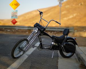 48V ebike echopper bike(Bchopper-48V1K12AH-Black ) for Sale in Riverside, CA