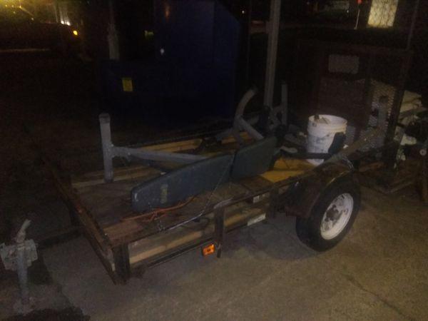 Utility trailer 4'x8'