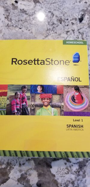Rosetta Stone SPANISH level 1 for Sale in Mesa, AZ