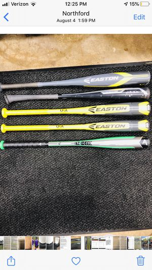 Little league USA stamped baseball bats for Sale in New Haven, CT