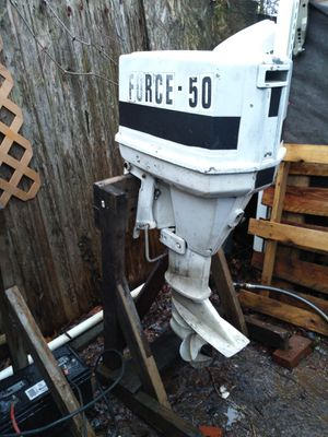 Mercury force 50hp outboard motor for Sale in Riverdale, MD