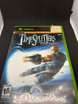 Timsplitters Future Perfect Original Xbox in case with Manual for Sale in Lincoln Acres, CA