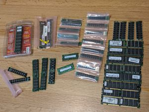 Lot of 30+ Ram Memory Sticks PC100, PC133, Notebook Memory and More! for Sale in Mount Prospect, IL