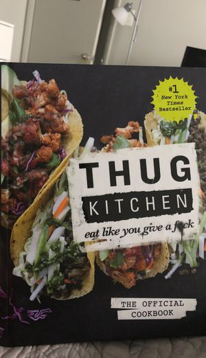 Thug Kitchen Cookbook for Sale in Manassas, VA