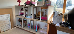 Doll house. Fits American Girl Dolls - HUGE for Sale in Arvada, CO