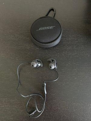 Bose Soundsport Wireless Black Headphones for Sale in Suisun City, CA