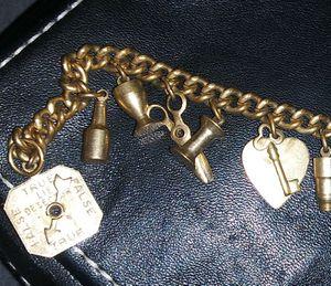 Vintage 50s charm bracelet. for Sale in Lakewood, CO
