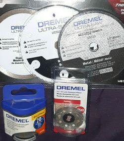 Dremel Ultra Saw Blades.. Dremel Rotorery Wheels for Sale in Longview,  TX