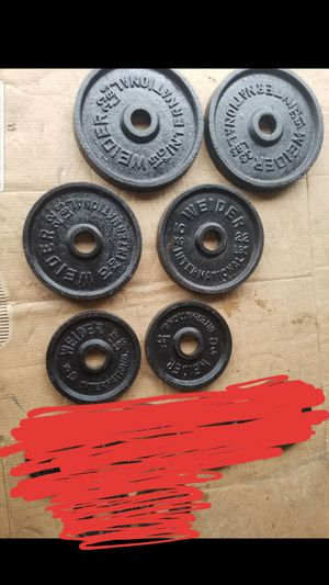 """OLYMPIC 2"""" HOLE PLATES for Sale in Chicago, IL"""