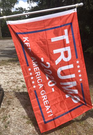 1 Trump 2020 3' x 5' Flag 🇺🇸 for Sale in West Palm Beach, FL