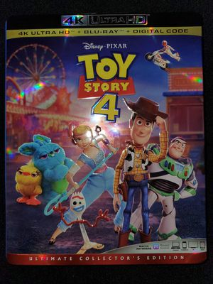 *NEW* Disney's Toy Story 4 4K UHD/HDR BluRay for Sale in Spring, TX