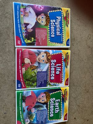 Rock and learn science dvds for Sale in Elk Grove, CA