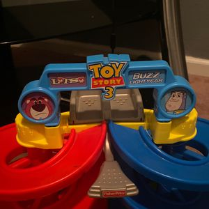 Toy story three car racing for Sale in Madera, CA