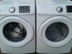 Like new washer and dryer set 4 months warranty for Sale in Alexandria, VA