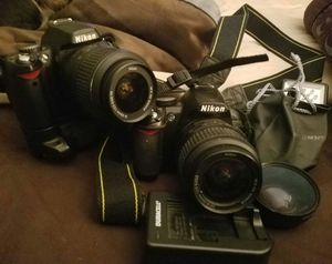 Two nikon camera's D40 and D100 for Sale in Baltimore, MD