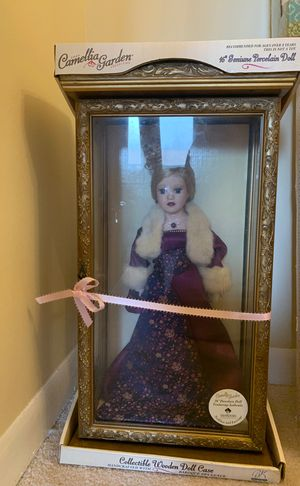 """Camellia Garden Collection 16"""" Genuine Porcelain Doll for Sale in Silver Spring, MD"""