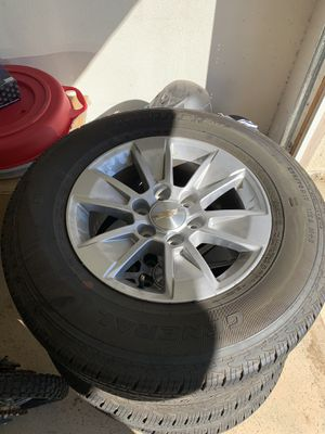 New Chevy Silverado wheels and tires for Sale in Corona, CA