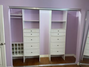 Closetmaid closet organizer for Sale in Santa Clarita, CA