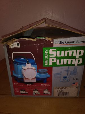 Sump pump for Sale in FL, US