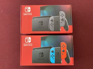Nintendo Switch 32GB Neon Blue/Neon Red and Gray Console for Sale in Davenport, FL