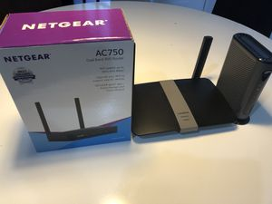 Linksys router Netgear router and Motorola modem for Sale in Miami, FL