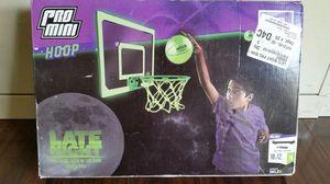 Pro Mini glow in the dark Basketball Hoop for Sale in Riverdale, GA