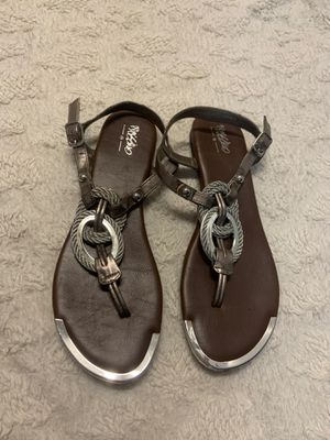 Like new mossimo sandals size 8 they fit as 7.5 for Sale in Lincoln Acres, CA
