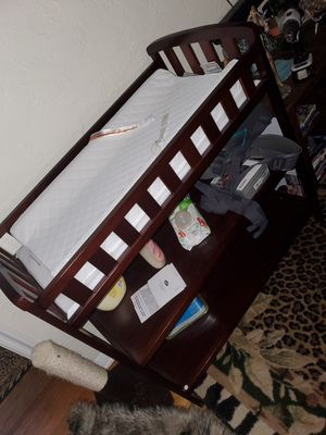 Almost brand new changing table for Sale in St. Petersburg, FL