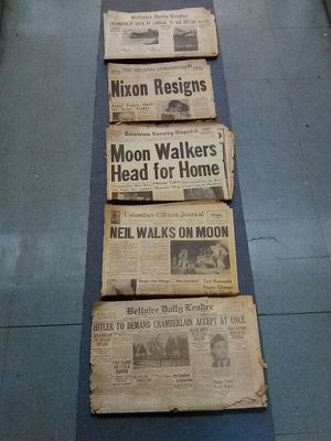 Vintage newspapers with monumental headlines for Sale in Columbus, OH